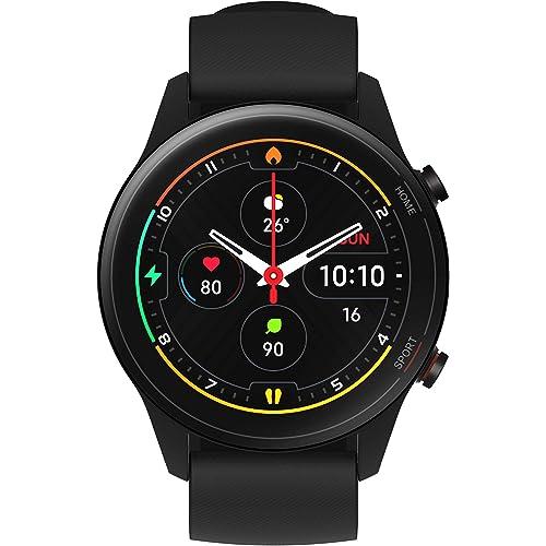 Xiaomi Mi Watch - Orologio Smart Xiaomi - Display AMOLED HD 1.39'' - Fino a 16 giorni di autonomia con una ricarica - 117 modalità fitness. NERO. Versione italiana