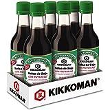 Kikkoman - Salsa de Soja con Menos Sal, Fermentación Natural, Salsa de Soja para Dietas Bajas en Sal, Pack 6 Uds x 250ml