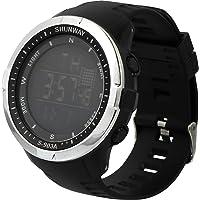 ABOOFAN 1 montre de sport étanche et lumineuse (noire)