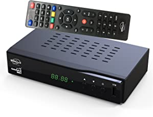 DigiQuest KabelAbel Full-HD Kabelreceiver Digital DVB-C (HDMI,Scart,LAN,USB,Display,Tasten,2in1 Fernbedienung)