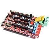 REES52 Arduino 12 V Mega Pololu compatible Shield (RAMPS) 1.4 for 3D Printer, Prusa Mendel