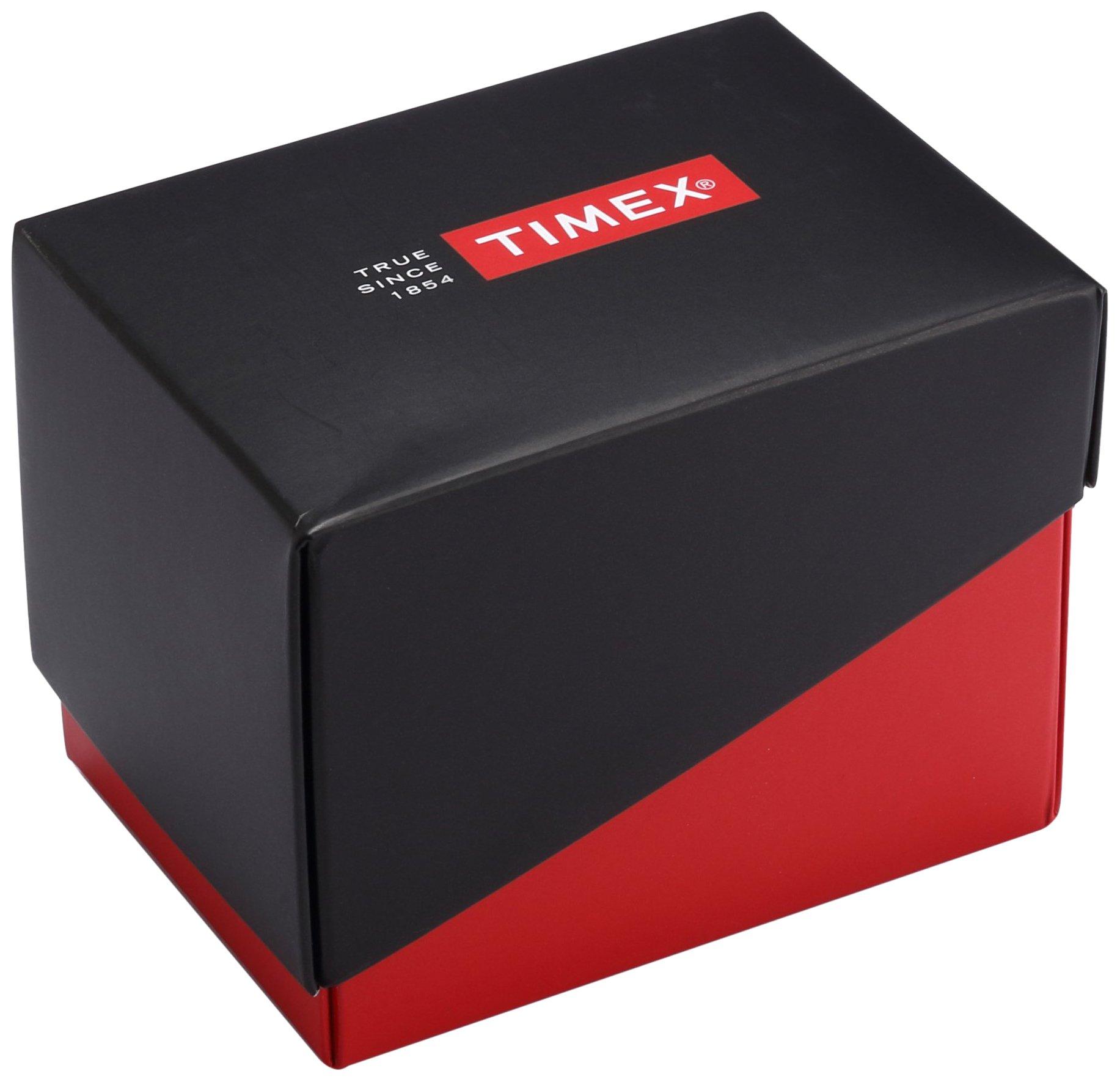 Timex Reloj Analogico para Unisex de Cuarzo con Correa en Cuero TW2P62100