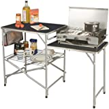 One Size Easy Camp Sarin Kitchen Table-Grey//Silver