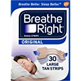 Breathe Right nasal strips Large Tan 30 count