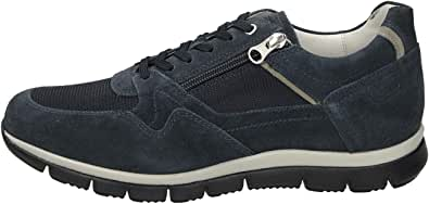 Nero Giardini Sneakers Uomo camoscio Grigio