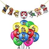 Decoración Cumpleaños Patrulla Canina Globos Patrulla Canina Pancarta Cumpleaños Patrulla Canina Balloons Patrulla Canina Bal