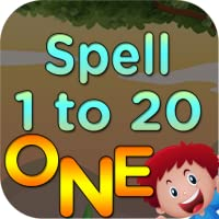 123 Numbers Spelling game for kids 1 to 20 numbers counting game for preschooler