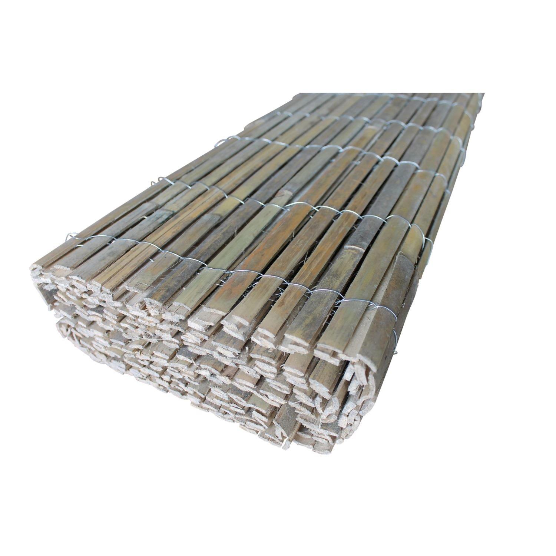 Amazon TOP MULTI Bambus Sichtschutz Zaun Handarbeit 2m x 4m