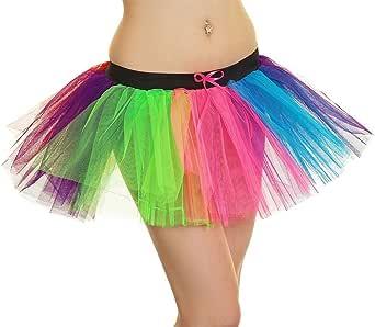 Rainbow GAY Pride Tutu danza Festival LGBT Costume Accessorio Multi Colore
