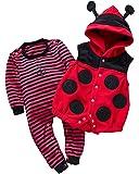 Kidsform Ensemble Bébé Animal Barboteuse Costume Déguisement Enfant Combinaison Pyjama
