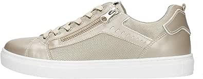 Nero Giardini P907570D Sneakers Donna in Pelle E Tela