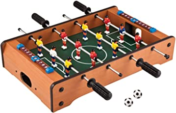 Plutofit® Table top Foosball, Mini Football, Table Soccer Game, for Indoor Football Soccer Game