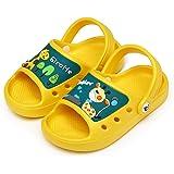 CELANDA Zapatillas de Ducha para Niños Playa Chanclas para Niña Niño Antideslizantes Sandalias de Baño Suave y Confortable Pi