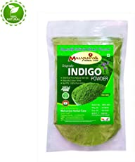 Malvaniya Herbal Care Indigo Powder Organic Natural Hair Colour Dye, 250g ( Pack Of 1 )