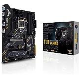 ASUS TUF GAMING B460-PLUS, Scheda madre Intel B460 (LGA 1200) ATX con doppio M.2, 8 livelli di potenza, HDMI, DisplayPort, SA