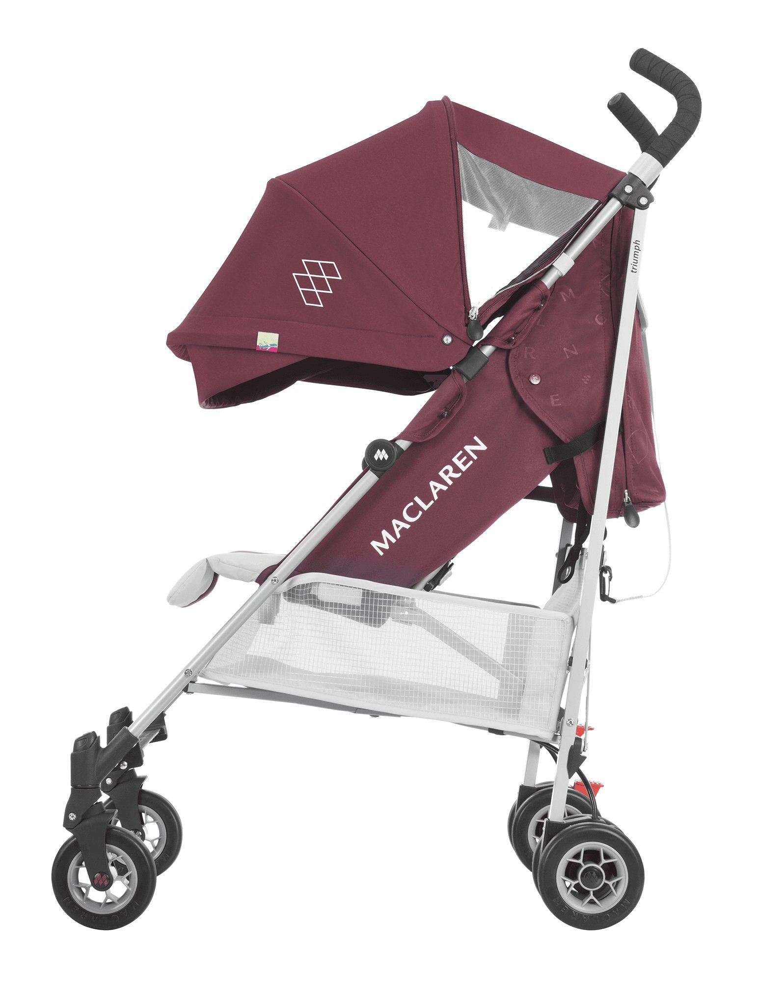 Maclaren Triumph Stroller - lightweight, compact Maclaren Basic weight of 5kg/ 11lb; ideal for children 6 months and up to 25kg/55lb Maclaren is the only brand to offer a sovereign lifetime warranty Extendable upf 50+ sun canopy and built-in sun visor 3