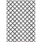 Darice Embossing Folder Cartella per Goffratura Mascherina Conchiglie, 29.7x21x0.3 cm