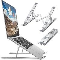Support pour Ordinateur Portable,Support PC Portable Ventilé, Laptop Stand Réglable Ergonomique Léger Table de Lit…