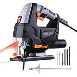 Seghetto Alternativo Con Laser 800W Tacklife PJS02A Sega Elettrico Professionale 6.7A Velocità Regolabile 800~3000rpm…
