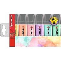 Stabilo Evidenziatore - BOSS ORIGINAL Pastel - Astuccio da 6 - Colori assortiti
