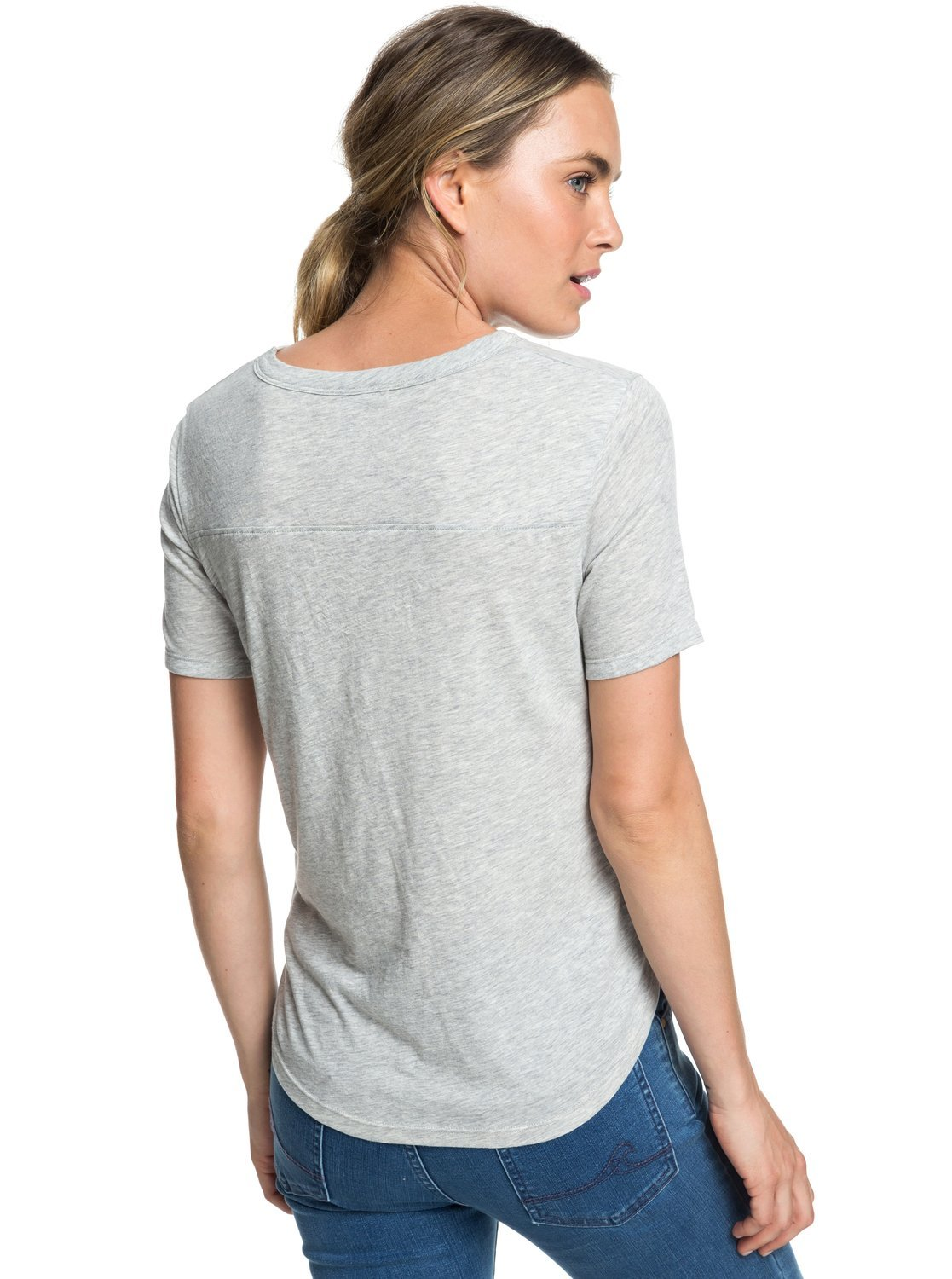 Roxy Hello Winter Colorblock Camiseta Mujer