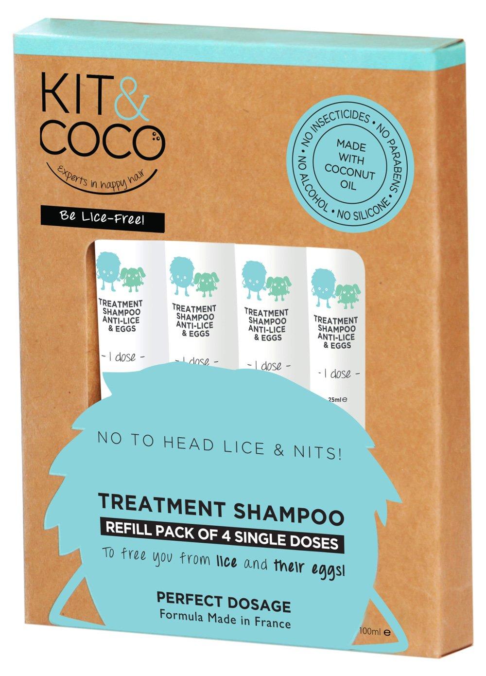 Shampoo ?KIT & COCO? per il trattamento di pidocchi e lendini
