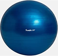 MOVIT Gymnastikball »DYNAMIC BALL« inkl. Pumpe, 55 65 75 85 cm, 7 Farben, Maximalbelastbarkeit bis 500kg, berstsicher, Fitness-ball, Sitzball, Yogaball, Pilates-ball, Balance
