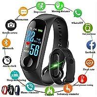 SHOPTOSHOP Activity Tracker, Bluetooth - Black