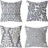 Cuscino copertura, 45 x 45 cm grigio coperture per arredamento design,Copertura del Fodere per ,Cuscini la Decorazione Domest