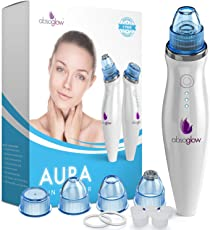 Aura Comedo Suction Microdermabrasion Blackhead Remover Vacuum Suction Facial Pore Cleaner, Rechargeable Skin Peeling Machine By Absoglow
