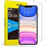 SPARIN Verre Trempé Compatible avec iPhone 11/ iPhone XR, [Lot de 2], Anti Rayures - sans Bulles, Vitre Protecteur pour iPhon