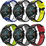 TOPsic Correas para Galaxy Watch 3 45mm/Huawei Watch GT2 46mm Correas, 22mm Universal Correas Repuesto Pulsera para Huawei Wa