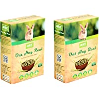 JiMMy Pet Products Oat Hay Real High Fiber Pellet for Rabbit 900g