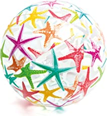 Intex Lively Print Balls - Stars, Multi Color