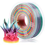 3 idea Imagine Create Print SUNLU Rainbow PLA Filament 1.75mm 3D Printer Filament 3D Pens 1KG PLA Filament/- 0.02 mm (Rainbow