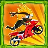 Ninja Bike Race : Temple Saga - jeu de course