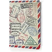 OPTEXX® RFID Reisepass-Hülle TÜV geprüft & zerifiziert | Grenzland | Ausweis-hülle | Schutzhülle | Schutz-Etui | Pass-hülle | aus Vegi Leder sicheres Blocking Passport