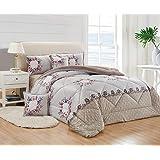 Winter Fur Comforter 4 Piece Set by Moon, Single Size, HH-009