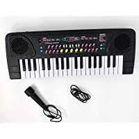 KGN Toy 37 Key Piano Keyboard with Recording Function and Microphone Play Toy Musical Toy for Kids (37 Key Piano_1)