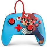 Mando con Cable Mejorado Powera Para Nintendo Switch. Mario Punch
