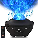 Sylvwin Luz de la Estrella,Proyector de Luz Nocturna con Estrella LED con Control Remoto,Lámpara de Proyector para Niños, Adu
