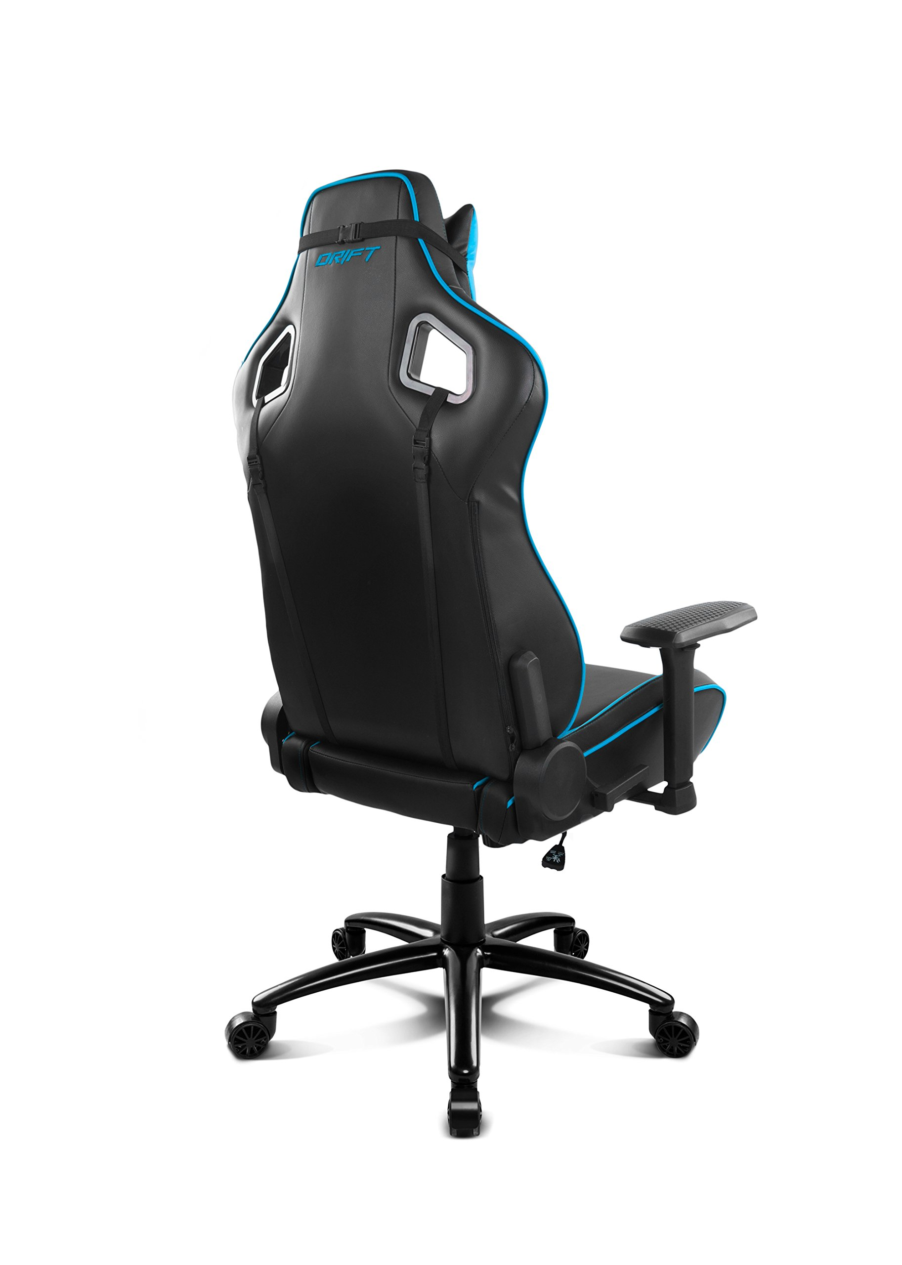 714wPf7i8AL - Drift DR400BL - Silla Gaming, Color Negro y Azul