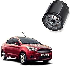 Auto Spare World Engine Oil Filter for Ford Figo Aspire 2015-2018 Petrol Set of 1 Pcs.