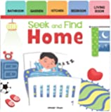 Seek And Find - Home : Early Learning Board Books With Tabs