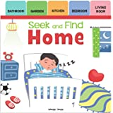 Seek and Find - Home: Early Learning Board Books with Tabs