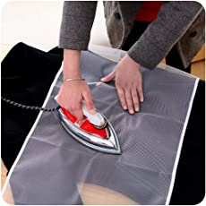 EMNDR Protective Nylon Mesh Ironing Cloth Iron Delicate Garment Clothes Guard Press Protection Pad Insulation Mat Home Ironing