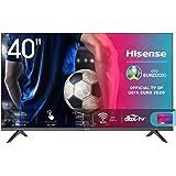 "Hisense 40AE5500F Smart TV LED FULL HD 1080p 40"", Bezelless, USB Media Player, Tuner DVB-T2/S2 HEVC Main10 [Esclusiva Amazon"