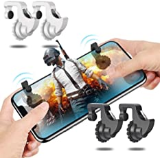 Phone Game Trigger Mobile Game Fire Button Aim Key L1R1 Shooter Controller for PUBG Knives Out Rules of Survivle fortnite