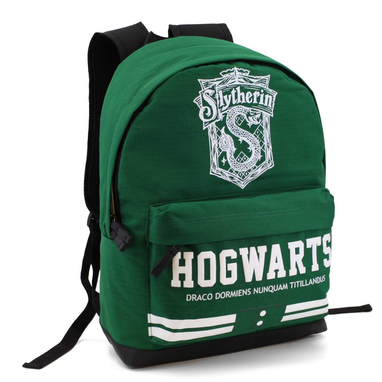 18a2cf09a0 Karactermania Freetime HS 33622 - Mochila, modelo Harry Potter Slytherin,  color verde | Mochilas Escolares Online