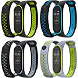 Mijobs Correas de Mi Band 3 Correa Mi Band 4 Bracelet,Wrist Strap Replacement Band para Mi Band 3 / Mi Band 4 (No Host)